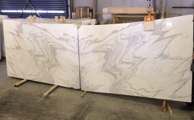 Book Matched Olympus Marble Slabs